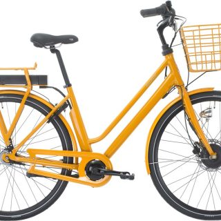 Raleigh Sussex E1 Dame 5 LED-display Nexus 7g fod/hydr. disc 48cm gul